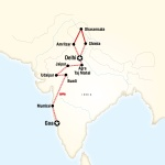 UGA Student Travel Northern India & Rajasthan to Goa by Rail for University of Georgia Students in Athens, GA