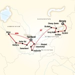 Binghamton Student Travel Central Asia – Multi-Stan Adventure for Binghamton University Students in Binghamton, NY