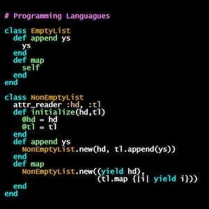 University of Oregon Online Courses Programming Languages, Part C for University of Oregon Students in Eugene, OR