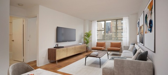 New York Housing HABITAT - 154 E. 29, Very Large 1 Bed/Flex 2 Avail. PT Doorman, Amazing Landscaped Roof Deck - NO FEE! OPEN HOUSE THUR 12:30-5 & SAT/SUN 11-2 BY APPT ONLY for New York Students in New York, NY
