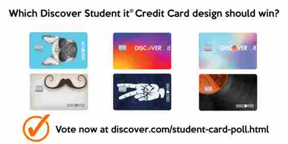 Vote to Choose the Next Discover it® Student Card Design Uloop